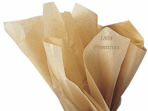 10 Large Sheets ~ KRAFT tissue paper # 547