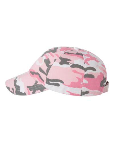 Camouflage Cotton Twill Baseball Hat Digital Camo Cotton Twill Cap Peaches