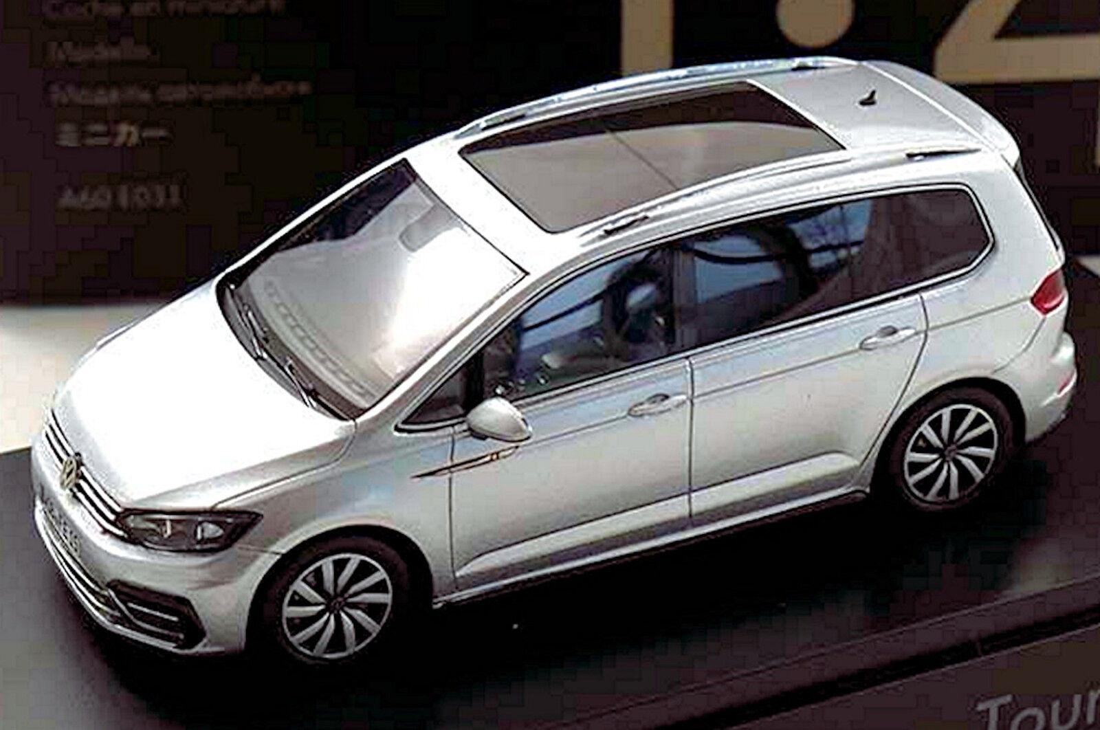 excelentes precios VW VW VW Touran R-Line Touran II Tipo 5T 2015-19 Plata Metálico 1 43 spark  te hará satisfecho