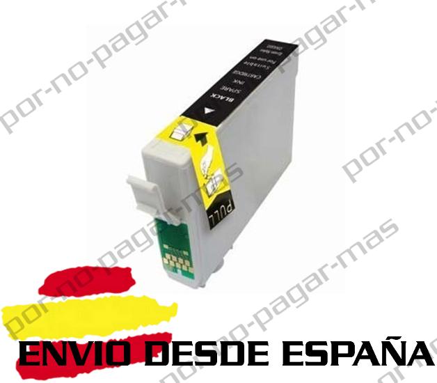 1 CARTUCHO COMPATIBLE NEGRO NonOem PARA EPSON STYLUS OFFICE BX305F T1285