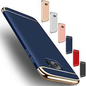 For-Samsung-Galaxy-S7-Edge-Slim-Shockproof-Hybrid-Hard-Electroplate-Case-Cover