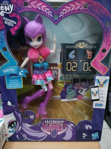 My Little Pony Friendship Games Wondercolts Vs ShadowBolts Figure Rarity//Pinkie