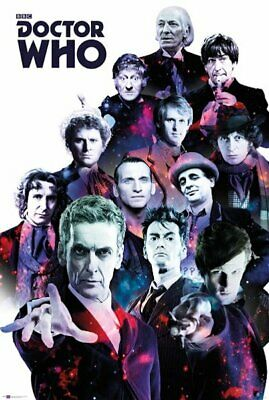 DOCTOR WHO COSMOS SUCCESSION 24 X 36 POSTER