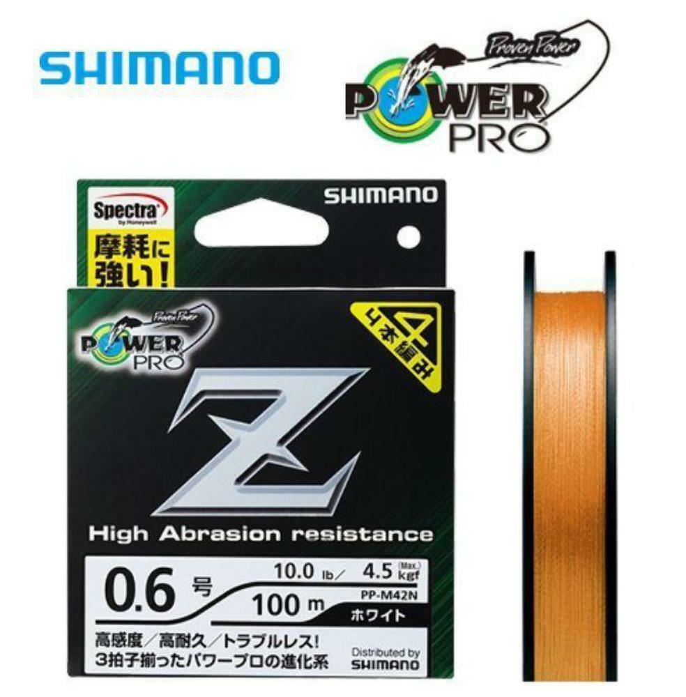 Shimano Power Pro Z High Abrasion resistance PE Braid Line