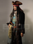 thumbnail 6 - Life Size Jack Sparrow BUST Statue Johnny Depp Prop Pirates Movie Style 1:1