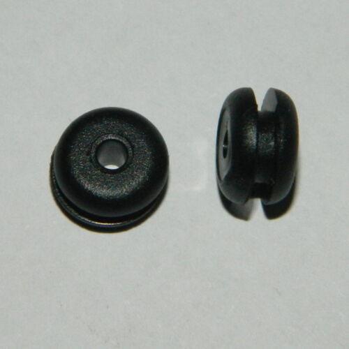Bohrloch 7mm Durchführungstülle 4mm für Tülle Kabeldurchführung 20 St
