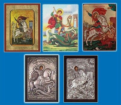 Orthodox Byzantine Wooden Icons Of Saint Stephen Agios Stefanos Heiliger Stephan