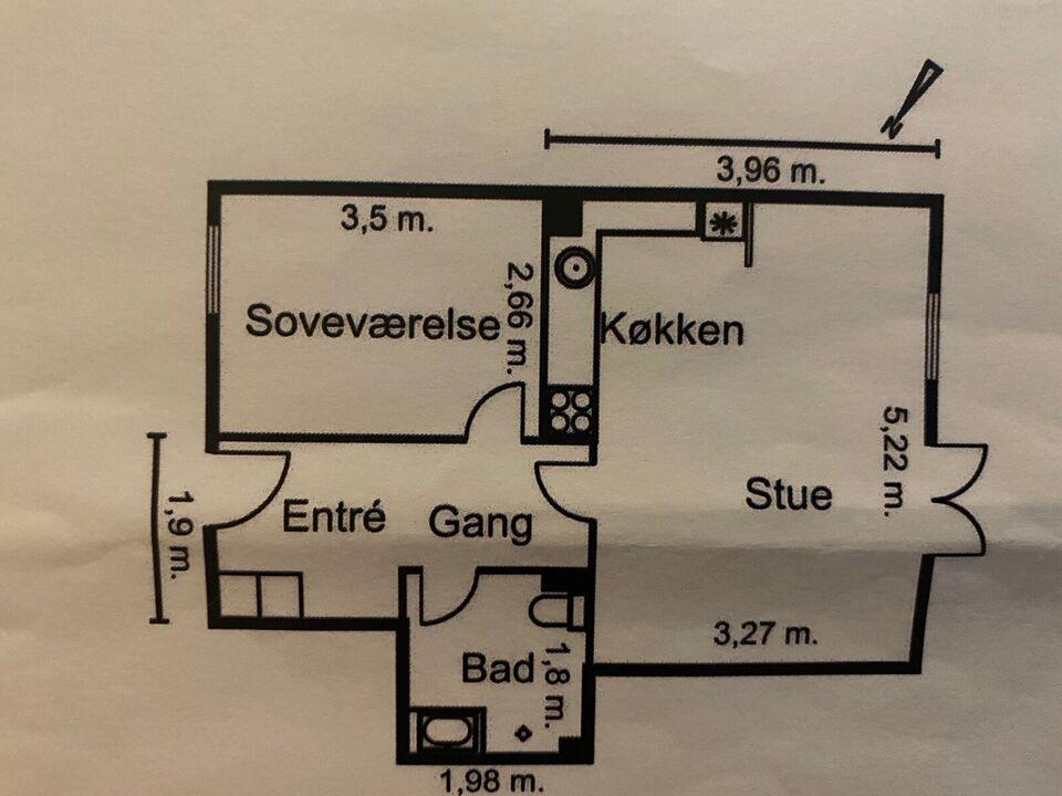 9000 2 vær. andelslejlighed, 48 m2, Riishøjsvej 28