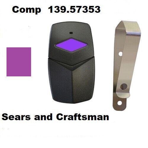 Sears Craftsman 139.53753 un bouton de porte de garage Mini émetteur 315 MHz