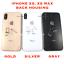 CARCASA-Posterior-Bateria-Cubierta-Marco-Montaje-Repuesto-para-iPhone-XS-y-XS-Max miniatura 1