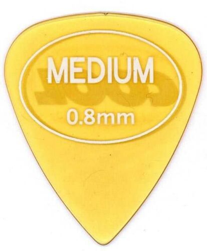 Cool Picks 0.80mm Beta Carbonate Standard Guitar Pick rubberized grip 6 SIX