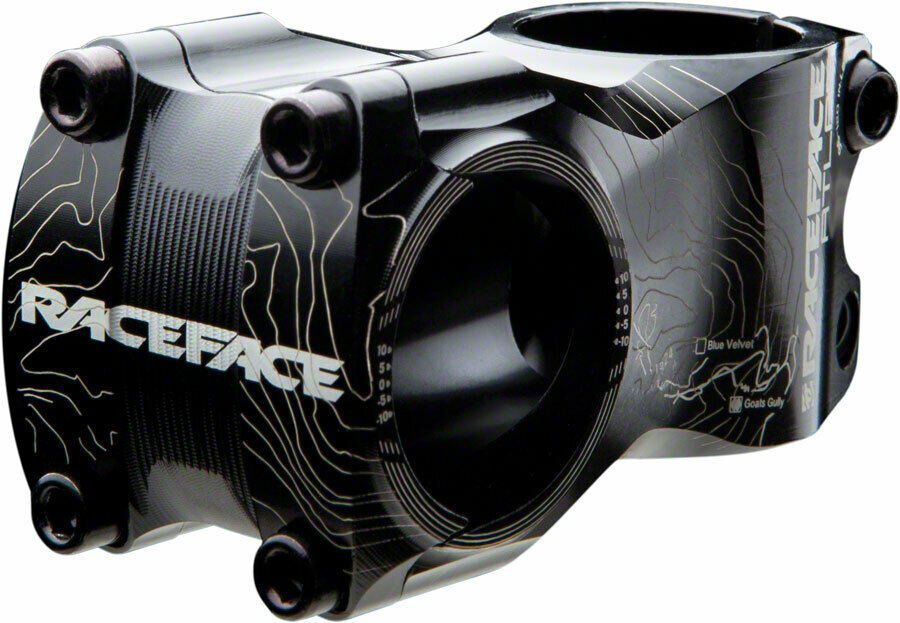 Tallo Raceface Atlas - 65mm 31.8mm 0 grados de Aluminio Negro