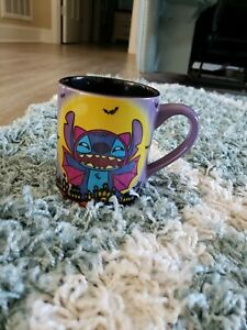 Disney-Halloween-Vampire-Lilo-amp-Stitch-14-Oz-Coffee-Mug-Cup-NEW