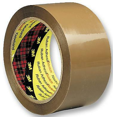 Brown Adhesive Packing Tape 50mm x 66m Pack of 6