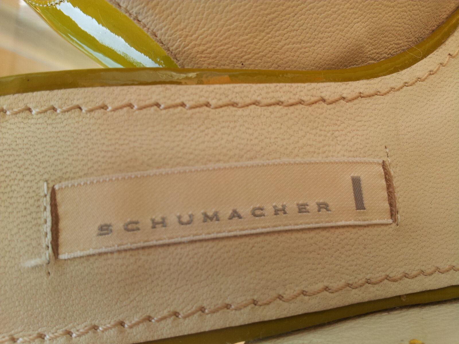 Schumacher Top Gr. Designer Lack Schuhe Gr. Top 37. NP 320,- 5f0816