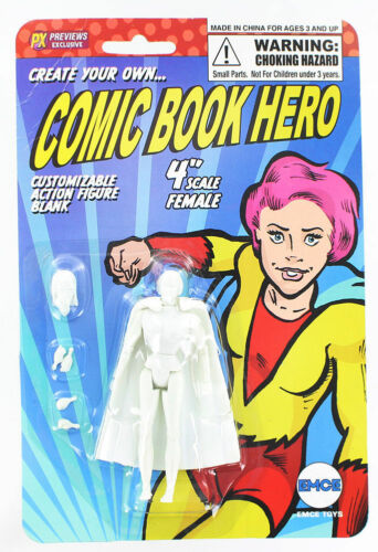 Create Your Own Custom Comic Book Hero Action Figure Female