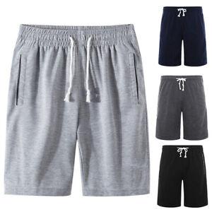 Sports-Jogging-Men-Plus-Size-Drawstring-Shorts-Fitness-Fifth-Pants-M-6XL