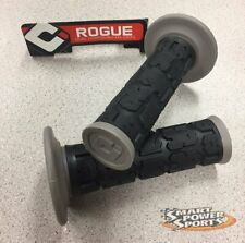 ODI Rogue MX Handlebar Grips BLACK//BLACK Motocross Twist Throttle-MADE IN USA