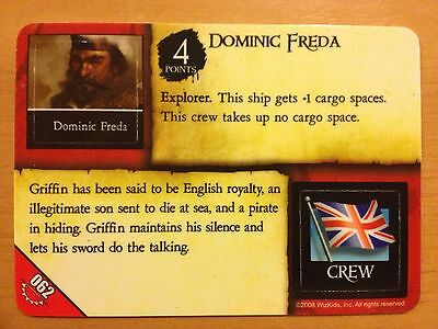 Pirates Rise of the Fiends #062 Dominic Freda Griffin Pocketmodel Mint