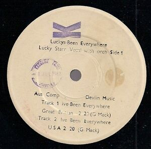 LUCKY-STARR-Luckys-Been-Everywhere-white-lbl-PROM-OZ-USA-NZ-GT-B-versions-K6-EP