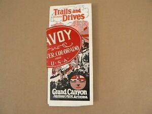Automobile-Trails-amp-Drives-Grand-Canyon-National-Park-AZ-1924-Travel-Booklet