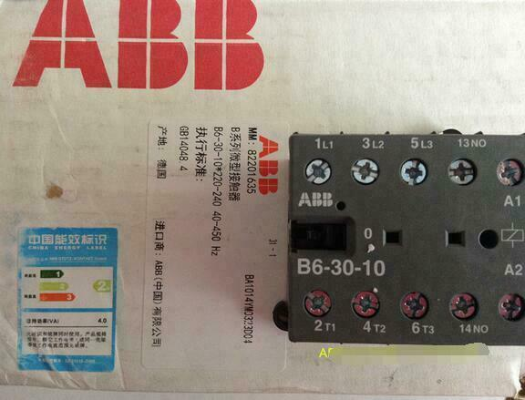 B6-30-10 24V  1PC New ABB auxiliary contacts free shipping &R1