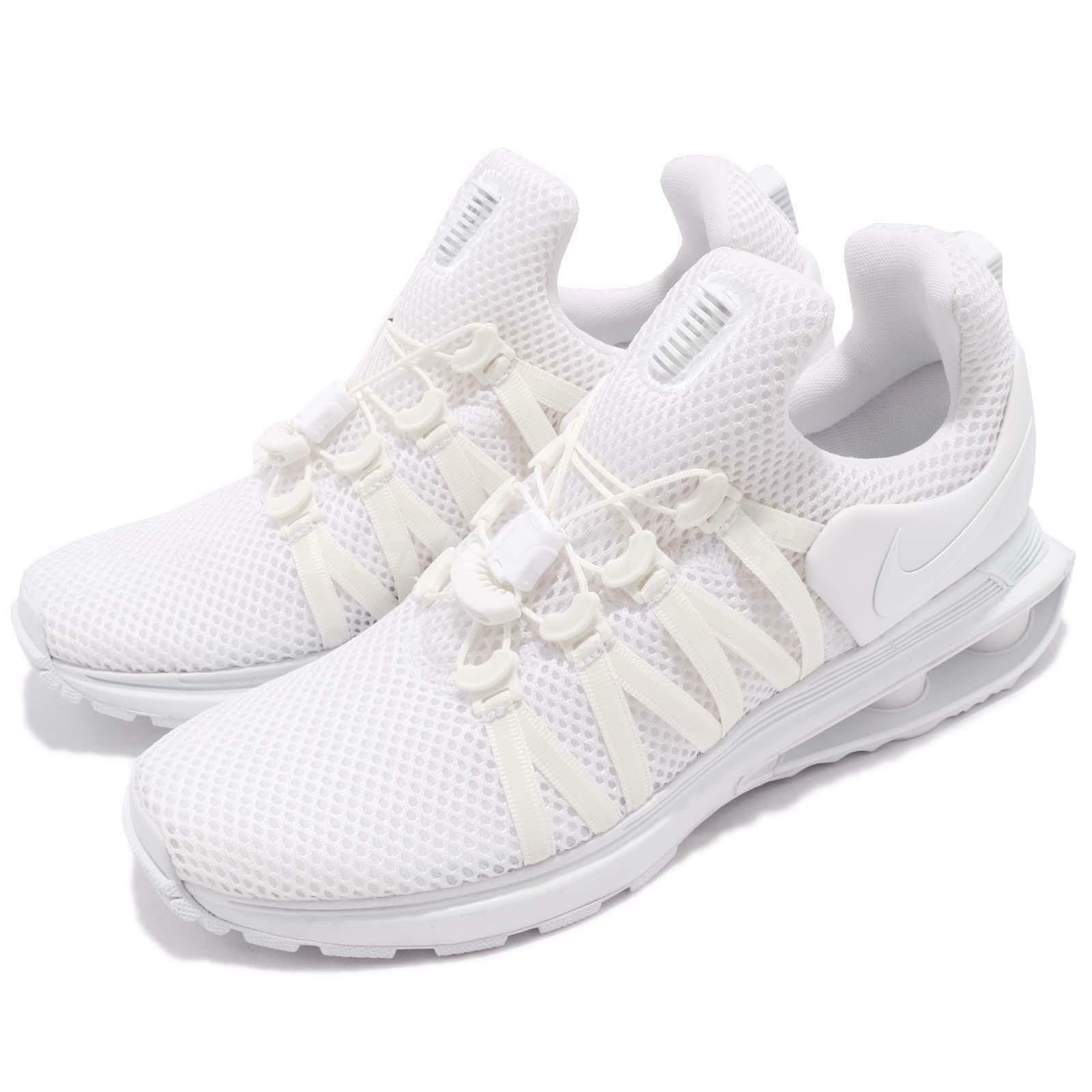 sports shoes 5be76 13c3d Nike Nike Nike Wmns Shox Gravity Triple White Women Running Shoes Sneakers  AQ8554-100 55dae5