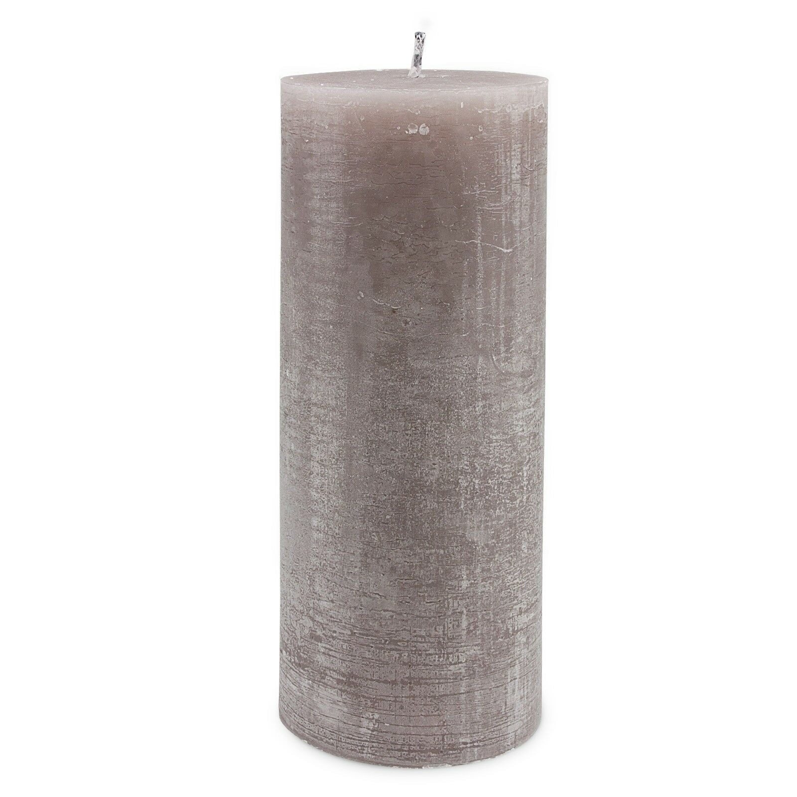 Stumpen Outdoor Kerze Hell Grau Beige Ø 12     30 cm Durchgefärbt Garten | Jeder beschriebene Artikel ist verfügbar  a2cb96