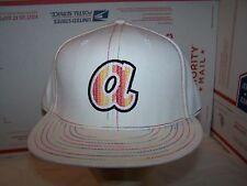 ATLANTA BRAVES FITTED HAT/CAP  MLB  SIZE 7 1/2 -MULTIPLEX WHITE-AMERICAN NEEDLE