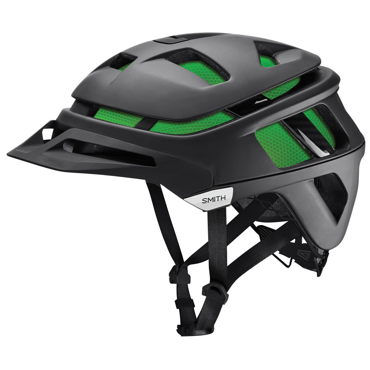 Smith vanguardia MIPS Ciclo MTB Casco Mate Negro verde koroyd S   m   L