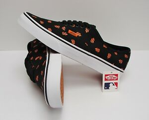 Heren Vans Zwart maat Francisco Mlb Vn0a2z5iku2 Giants San Authentic 11 OPC0q