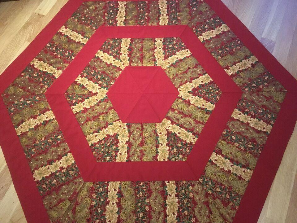 juletræstæppe patchwork