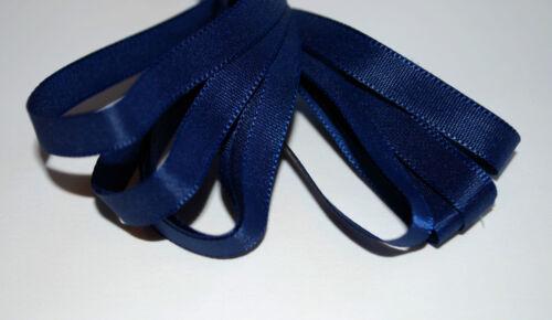 *** Bleu Marine-Ruban 6mm de large **