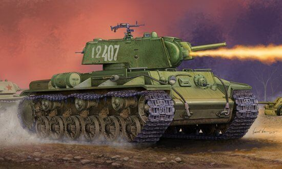 ofrecemos varias marcas famosas 01568 1 35 escala soviética KV-8S Torreta Tanque Blindaje modelo modelo modelo del vehículo Trumpeter  clásico atemporal