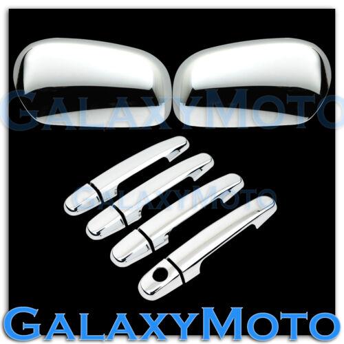 04-09 Toyota Matrix Triple Chrome plated Mirror+4 Door Handle no PSG KH Cover