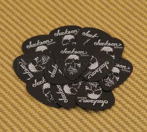 Medium Genuine Jackson 451 Skull Delrin .73mm 12 Picks Dozen Guitar Picks