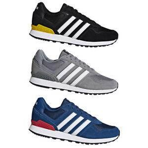 ADIDAS 10K HERREN Sneaker Blau Original Style Freizeit u
