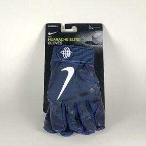 Details about Nike Huarache Elite Batting Gloves College Navy/White Men's L PGB643-439