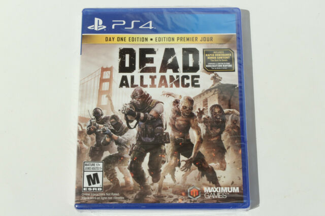 Dead Alliance Day One Edition (PS4 / Playstation 4) Brand New - Factory Sealed 1