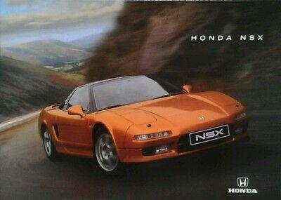 Honda NSX Sales Brochure - January 1998 | eBay