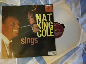 Nat-King-Cole-Sings-Vinyl-Record-Album-VGC-FREE-P-amp-P