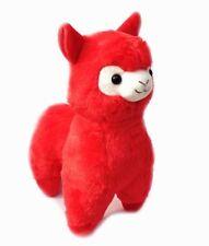 New 35CM Kawaii Red ALPACA Llama Cute Plush Alpacasso Arpakasso Toy Gift