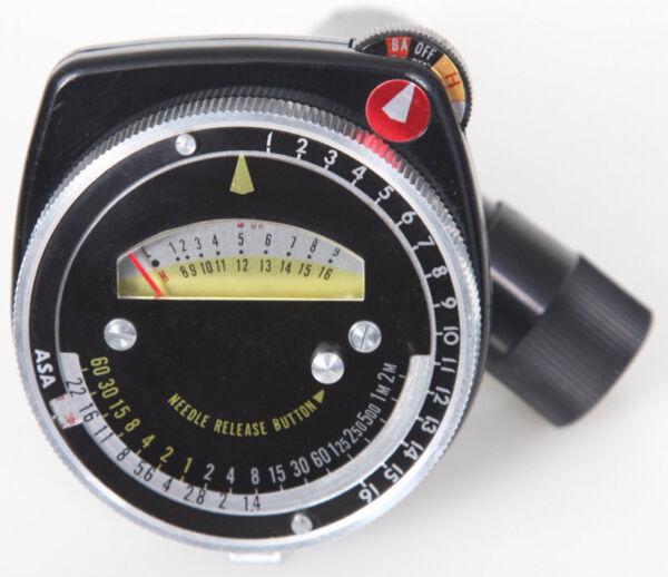 Bien Spiratone Spotmeter Lumière Mètre Projecteur Pour Caméra Photo Cds - Inhabituel Prix De Vente