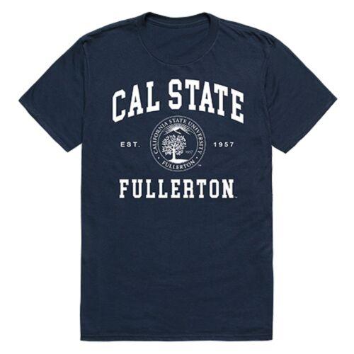 California State Fullerton Titans NCAA College Logo Licensed T-Shirt S-2XL