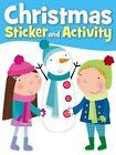 Snowman Christmas Sticker Activity by Autumn Publishing Ltd (Paperback, 2014)