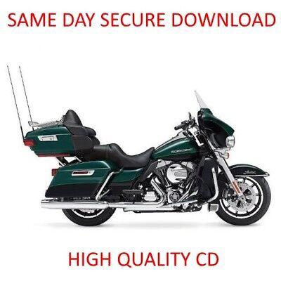 2004 Harley Davidson Touring Service Manual on CD