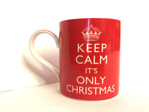 Image Is Loading Keep Calm It 039 S Only Christmas Red