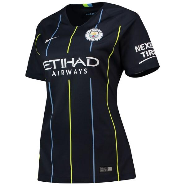 Manchester City Football Shirt Womens Nike Away Shirt - New