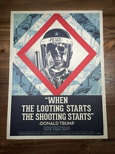 Shepard-Fairey-Obey-Giant-When-The-Looting-Starts-Art-Print-Offset-Poster-Trump