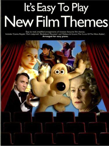 Klaviernoten Musiknoten It´s Easy To Play New Film Themes